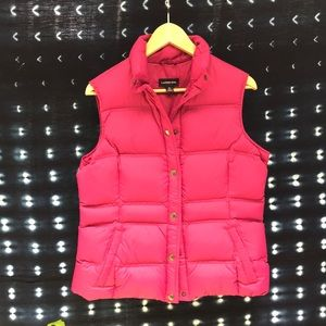 Lans' end fuschia vest